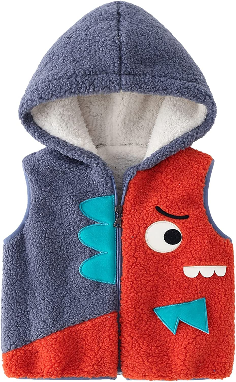 Lobmouse Baby Max 75% OFF Winter Gilets Boy Vest Girl Fleece Toddler Waistco Ranking TOP8