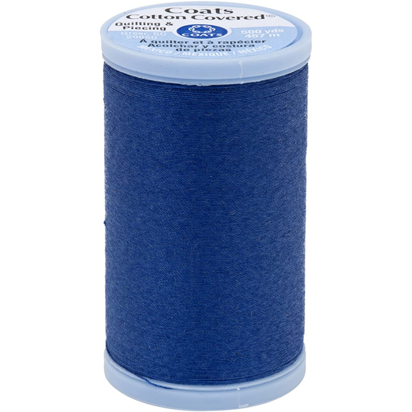 Coats Cotton Covered Quilting and Piecing Thread, 500-Yard, Yale Blue