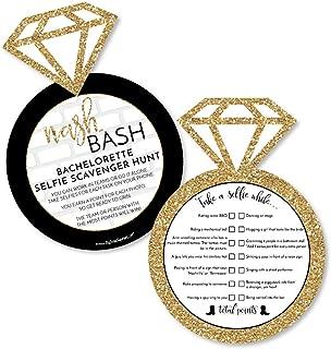 Nash Bash - Selfie Scavenger Hunt - Nashville Bachelorette Party Game - Set of 12