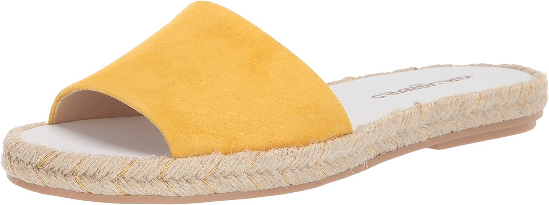 Karl Lagerfeld Paris Women's Houston Mall Industry No. 1 Niya Slide Sandal