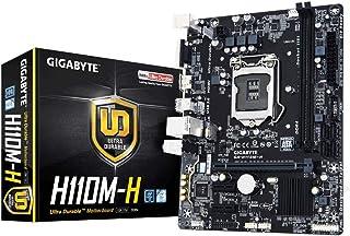 Gigabyte GAH11MH-00-G - Placa Base (H110m-H, 1151, H110, 2ddr4, 32gb, Vga+Hdmi, Gblan, 4sata3, 4usb3, Matx)