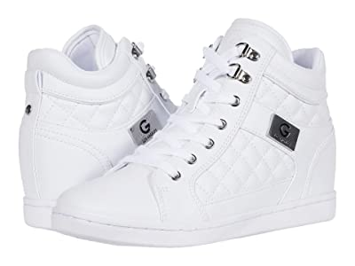 GBG Los Angeles Dayna (White Multi) Women