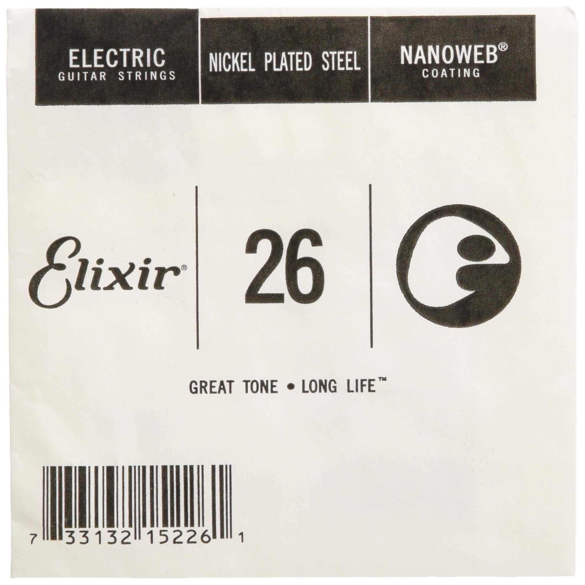 Cheap Elixir Strings Electric Guitar String NANOWEB Coating .026 Black Friday & Cyber Monday 2019