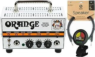 Orange MT20 Micro Terror 20 Watt Amp Head w/ Joyo Tuner and 5' Speaker Cable