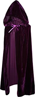 Kids Costumes Capes Cloak with Hood for Halloween Party Ages 2 to 18