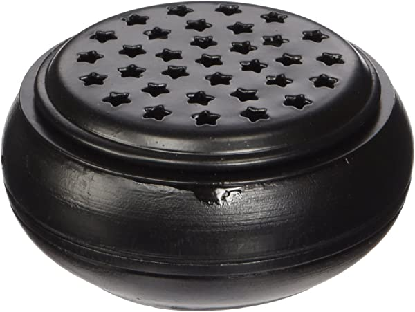 Incense Burners Black Wood And Metal 3 1 2 Diameter