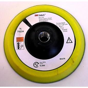 3M Abrasive 405-051131-05545 Low Profile Finishing Disc Pad 0554544; Pressure-Sensitive Adhesive Psa Attachment44; 10 Per Carton