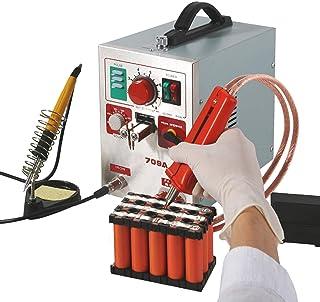 Hanchen Battery Spotsvetsare 3,2 kw Pulse Spotsvetsmaskin 709 A med lödkolv 2-i-1 för 18650 16430 22650 32650 batteri 220 V