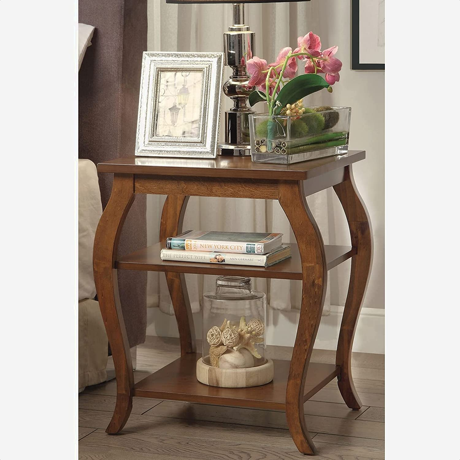 Sturdevant Max 65% OFF Direct sale of manufacturer End Table with Storage Warranty Year 1 Coun Length: