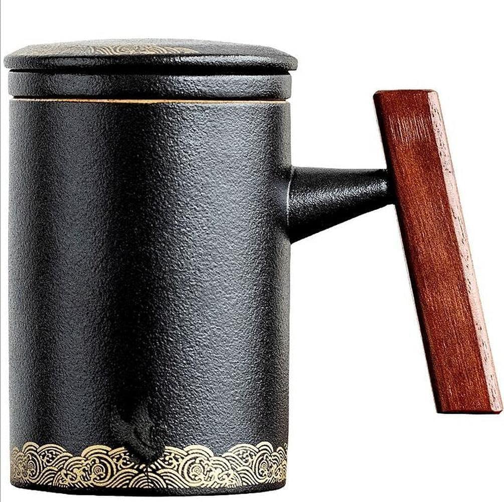 PAYNAN Lowest price challenge 400ML Ceramic Mug Cups It is very popular Coffee Kung Filter Tea Cup Fu