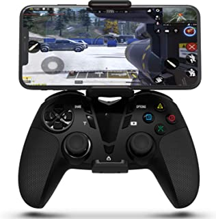 DarkWalker PS4 Dual Vibration Wireless Controller, Call of Duty Mobile Controller for iOS 13 or Later/Android OS 10 or Later/PC/Playstation 4 Support MFI-Compatible Games