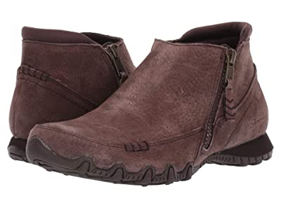 SKECHERS Bikers Zippiest (Chocolate) Women