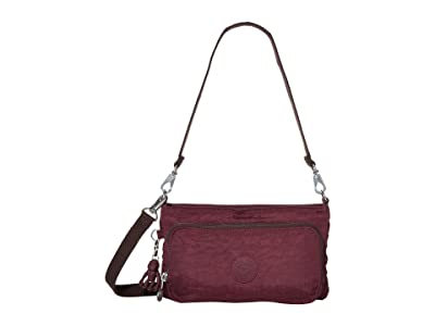 Kipling Myrte Convertible Crossbody Bag (Dark Plum) Handbags