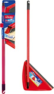 Vileda DuActiva Anti Dust Broom + Long Handle Dustpan