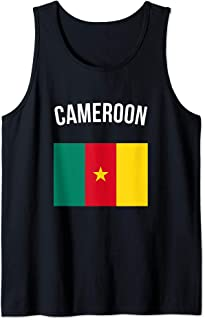 Cameroon Cameroonian Flag Pride Travel Souvenir Tank Top
