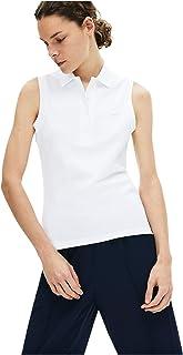 Women's Sleeveless Slim Fit Classic Polo