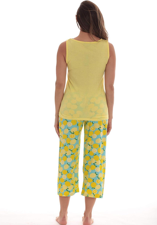 Just Love 100% Cotton Capri Sets Women Sleepwear Womans Pajamas Pjs