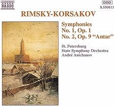 Rimsky-Korsakov: Symphonies Nos. 1 And 2
