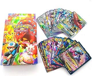 بطاقات طاقة بوكيمون اي اكس جي اكس ميجا للتدريب من 100 قطعة