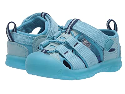 Keen Kids Newport H2 (Toddler) (Petit Four/Blue Mist) Girls Shoes