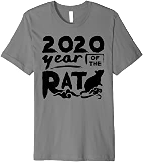 2020 Year Of The Rat Funny Chinese Lunar New Year Gift Premium T-Shirt