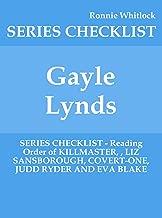 Gayle Lynds - SERIES CHECKLIST - Reading Order of KILLMASTER, , LIZ SANSBOROUGH, COVERT-ONE, JUDD RYDER AND EVA BLAKE