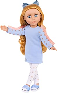 Glitter Girls Dolls by Battat - 14-inch Posable Fashion Doll Poppy - Long Light-Red Hair & Bright Blue Eyes with Bendable ...