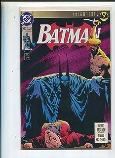 Batman #493 Knightfall 3 DC Comics Near Mint CBX9A