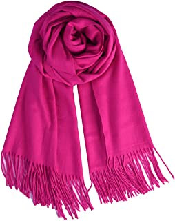 Womens Large Soft Wedding Evening Pashmina Shawls Wraps Scarfs