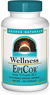 Source Naturals Wellness EpiCor with Vitamin D-3 for Heightened Immune Defense - 60 Capsules