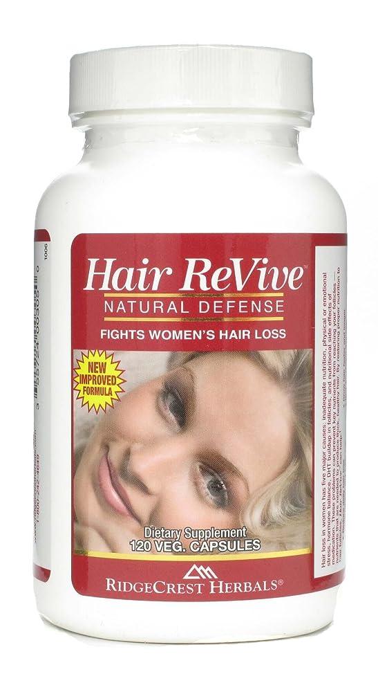 Ridgecrest Herbals Hair Revive Nat Defense 120 Cap