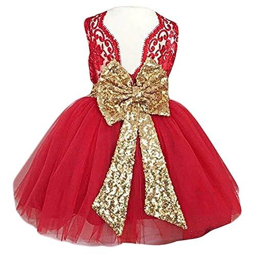 bfff6af0 0-12 Years Baby Flower Girl Dress Wedding