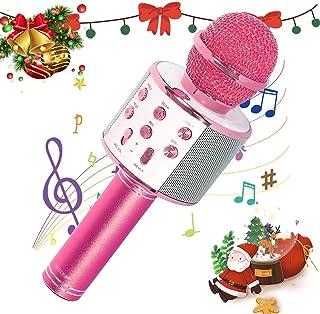 SaponinTree Microfono Karaoke Bluetooth, Wireless Bambini Po