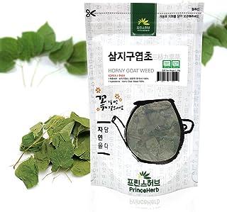Sponsored Ad - [Medicinal Korean Herb] Horny Goat Weed (Barrenwort/Epimedium/Yinyanghuo/삼지구엽) Dried Loose Leaves 50g