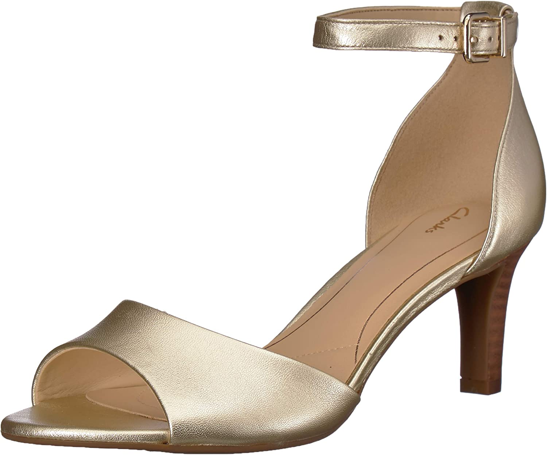 Clarks Women's Laureti Grace Heeled Sandal