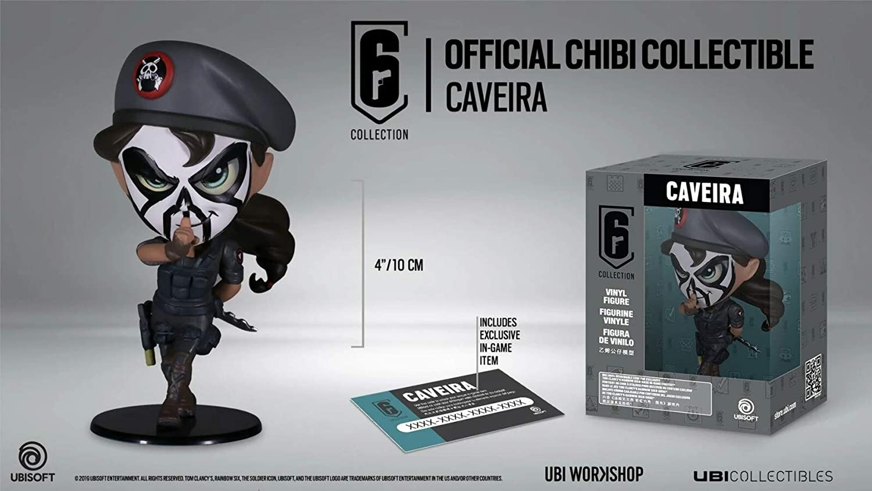 Ubi Workshop Six Collection Merch Figurine 送料無料 激安 お買い得 キ゛フト Chibi Caveira S3 品質保証