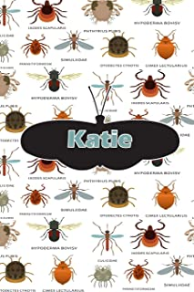 Katie: Bug Insect Journal notebook 120 pages 6