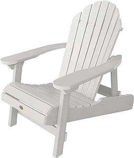 Highwood AD CHL1 WHE Hamilton Adirondack Chair, Adult, White