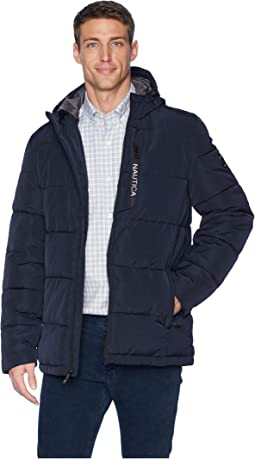 Quilted Hooded Parka