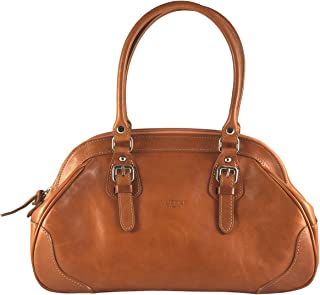 I Medici Italian Leather Handbags That are Directly Imported from Italy Honey Brown 2990