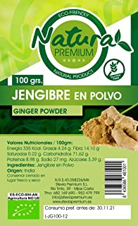 Natura Premium Jengibre Polvo Bio 100 g