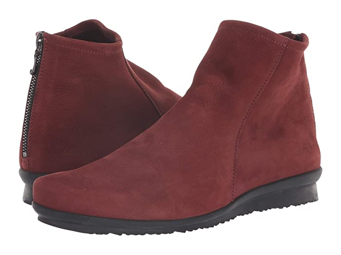 Arche  Baryky (Rioja Waterproof Brushed Leather) Womens Zip Boots