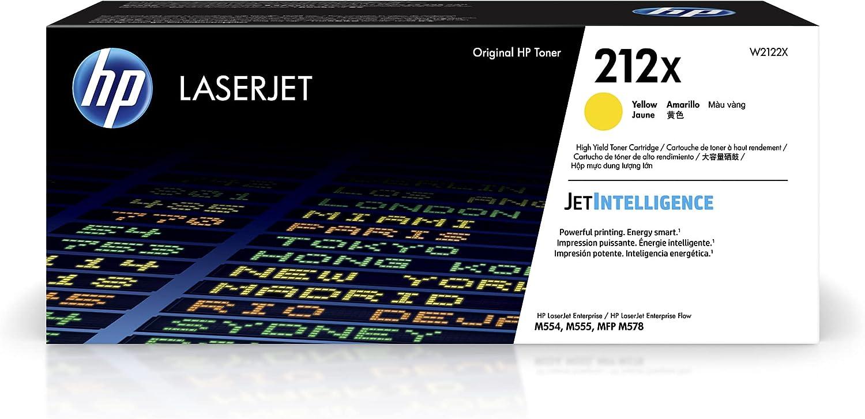 HP 212X   W2122X   Toner-Cartridge   Yellow   High Yield