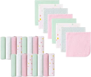 Baby Washcloths, Extra Soft and Ultra Absorbent Bath Cloth, Great Gifts for Newborn and Infants, 24 Pack, Unicorn