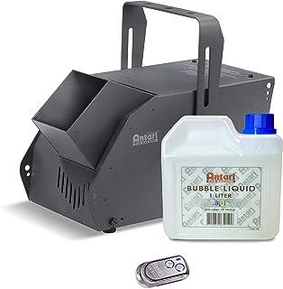 الة الفقاعات لاسلكية من انتاري (W-101)، عدد كبير من الفقاعات في ثوان، سهلة الاستخدام ومزودة بجهاز التحكم اللاسلكي للمناسبا...
