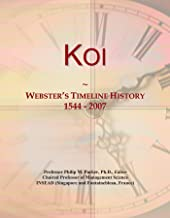 Koi: Webster's Timeline History, 1544 - 2007