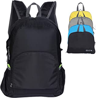 ELCM Foldable and Packable25L/35L Backpack Lightweight Traveling Waterproof Backpack Sports Daypack fit Women and Men