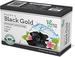 Happy Herbal Care Black Gold Natural Soap 75G