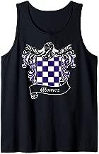 Alvarez Coat of Arms surname last name family crest Tank Top