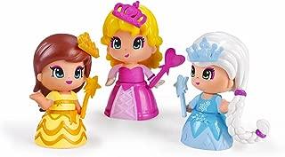Pinypon - Pack de 3 Princesas, Incluye 3 Figuras y
